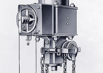 In 1903 R. STAHL adds construction of electric pulley blocks to its range.