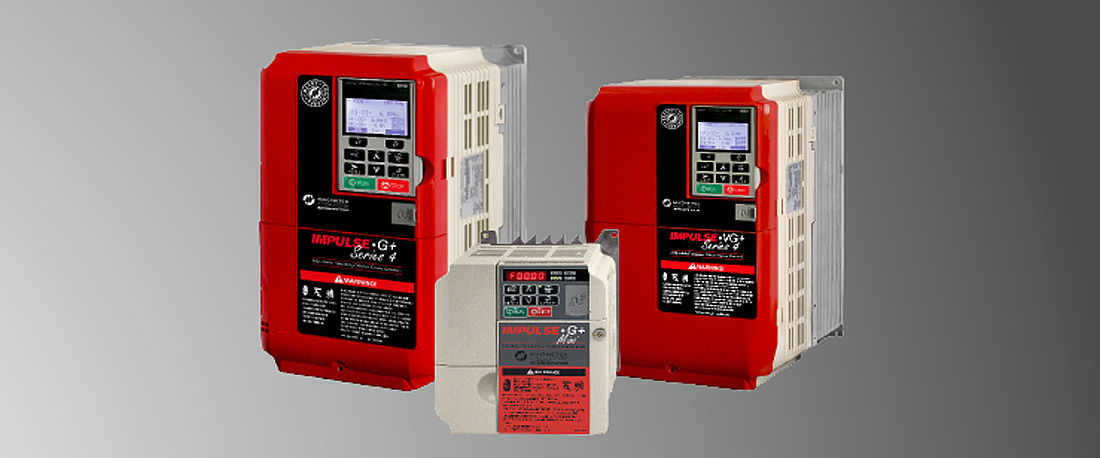 Detail: Frequency inverters from Magnetek