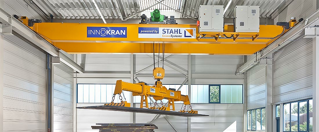 25 t double girder overhead travelling crane with AS 7 wire rope hoist