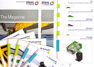 STAHL CraneSystems: Material informativo