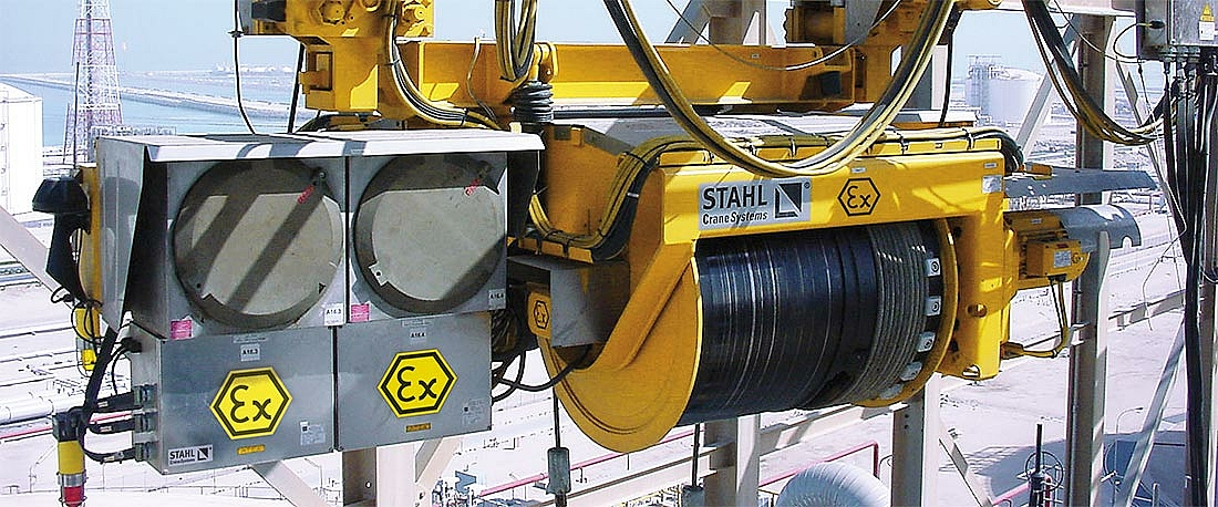 LNG hoist with Safety Level 3B