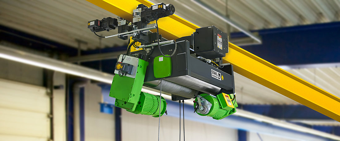 LNG hoist with Safety Level 3A