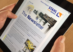 Subscribe to STAHL CraneSystems' newsletter here.