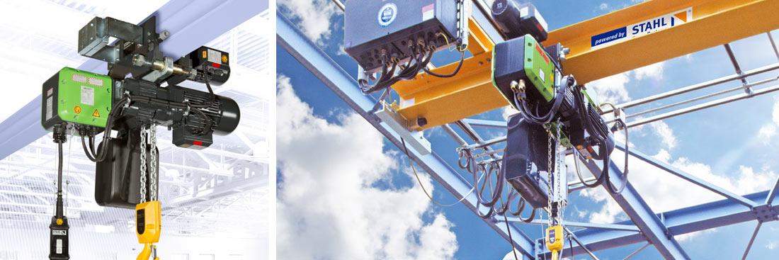 ST Ex chain hoist from STAHL CraneSystems