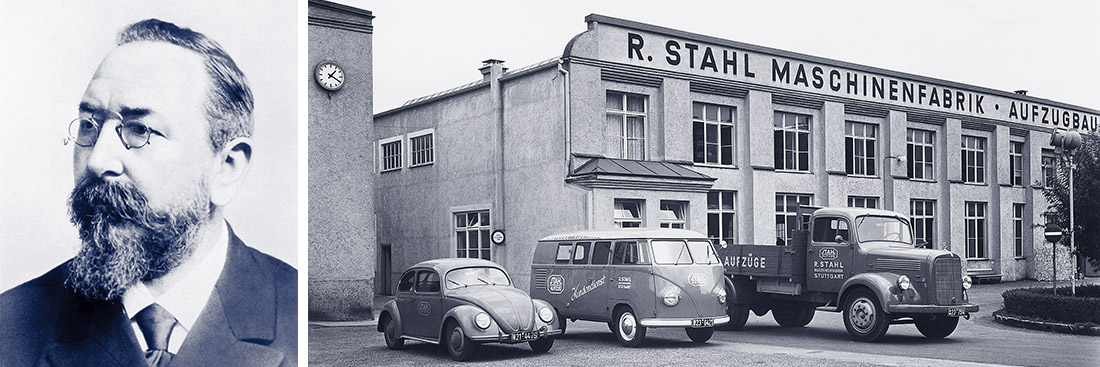 STAHL CraneSystems: History – the development of the company