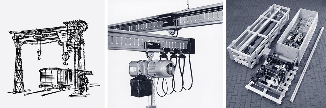 STAHL CraneSystems: Historie – die Entwicklung der Krantechnik