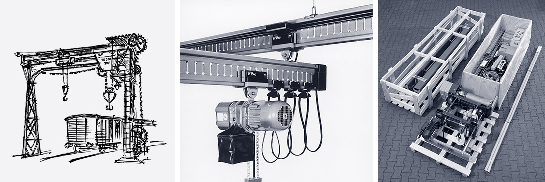 STAHL CraneSystems: History – the development of crane technology