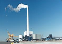 Instalación de una central eléctrica