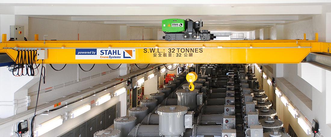 Polipasto de cable SH 6080, de STAHL CraneSystems