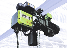 ST Ex explosion-proof chain hoist for all protection zones, fields of use, branches of industry and regions.