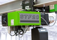 STF chain hoist from STAHL CraneSystems