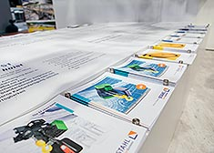 Brochures from STAHL CraneSystems at the LogiMAT 2017