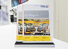 STAHL CraneSystems: Magazine 18, LogiMAT 2017 Trade Fair Stuttgart, Germany, customer magazine