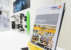 Magazine 18 at the LogiMAT 2017, STAHL CraneSystems customer magazine