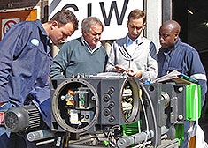Theoretical training in explosion protection