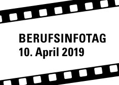Banner zum Berufsinformationstag am 10. April 2019