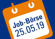 Banner: Job-Börse 25th of May 2019