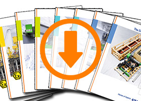 Brochures from STAHL CraneSystems with download icon.
