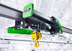 Wire rope hoists from STAHL CraneSystems are based on a modular system. Individually combinable parts enable construction of near-standard, reliable and economical custom solutions. All hoists are also available with explosion protection to ATEX or IECEx.