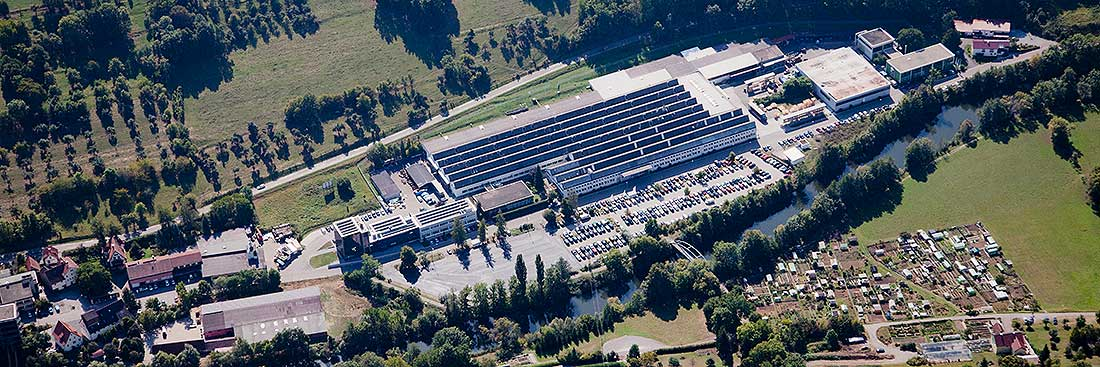 STAHL CraneSystems: Headquarters and production plant in Künzelsau, Germany
