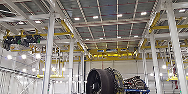 STAHL CraneSystems hoists in the GE Celma plant in Brazil