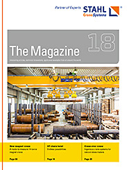 The eMagazine 18 of STAHL CraneSystems