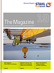 The eMagazine 19 of STAHL CraneSystems