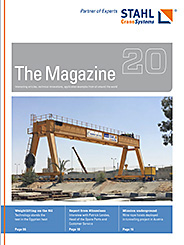 The eMagazine 20 of STAHL CraneSystems